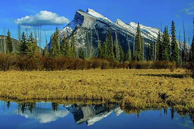 Photograph - Vermillion Lakes, Banff National Park, Alberta, Canada by David Butler