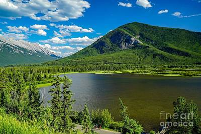 Photograph - Vermillion Lakes Viewpoint by Susan Rydberg