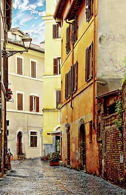 Photograph - Via Della Tribuna Di Campitelli by Anthony Dezenzio
