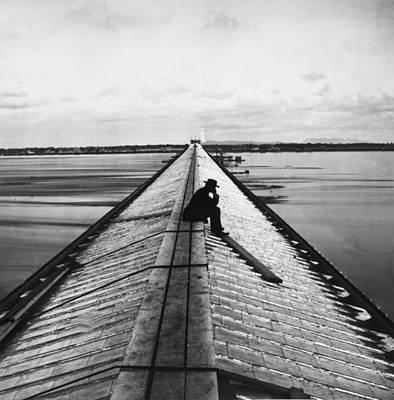 Photograph - Victoria Bridge by William England