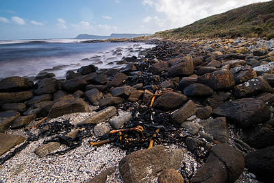 Photograph - View Of Cloudy Bay In Bruny Island, Tasmania, Australia. by Rob D