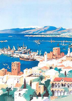 Beastie Boys - Vintage Lebanon Port by Munir Alawi