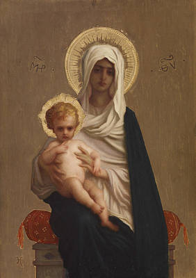 Painting - Virgin Of The Deliverance by Ernest Hebert