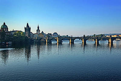 Photograph - Vltava River, Prague by Images Unlimited