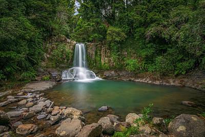 Photograph - Waiau Falls - New Zealand by Joana Kruse