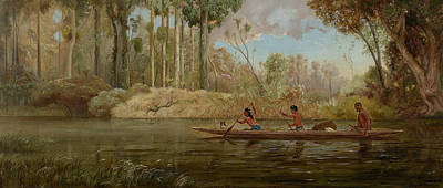 Painting - Waikato River by Kennett Watkins