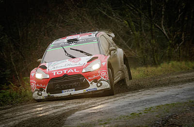 Elliott Coleman Royalty-Free and Rights-Managed Images - Wales Rally 2016 by Elliott Coleman