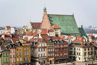 Photograph - Warsaw Skyline by Didier Marti