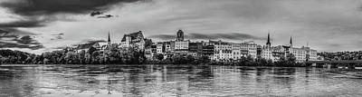 Black Is Beautiful Wall Art - Photograph - Wasserburg Am Inn Panorama by Pixabay