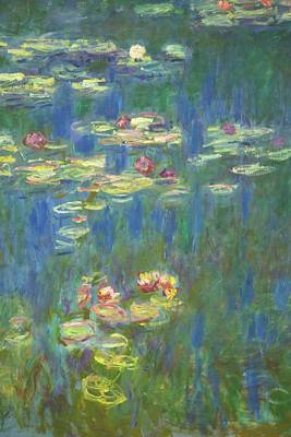 Painting - Water-lilies By Claude Monet by Peter Barritt