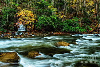 Photograph - Waterfall Back Fork Of Elk by Thomas R Fletcher