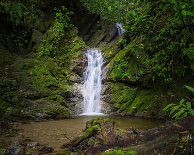 Photograph - Waterfalls Of The Elves Entreaguas Ibague Tolima Colombia by Adam Rainoff