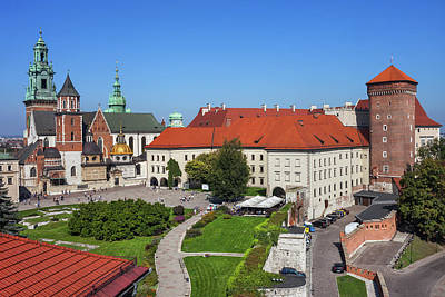 Photograph - Wawel Cathedral And Castle In Krakow by Artur Bogacki