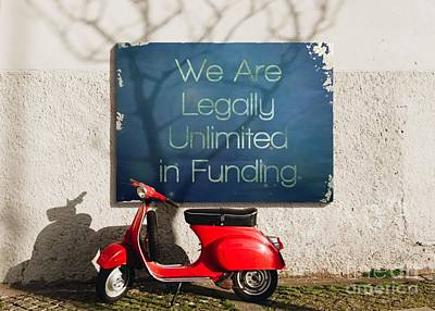 Painting - We Are Legally Unlimited In Funding by Catherine Lott