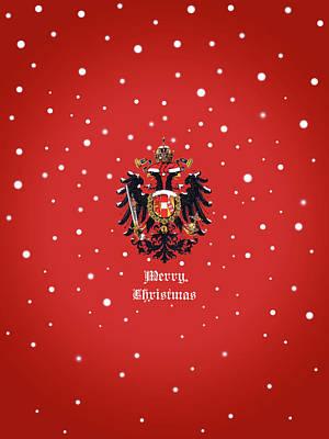 Photograph - Christmas Habsburg-doppeladler by Helga Novelli