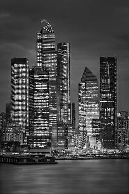 Photograph - Welcome To Nyc Hudson Yards by Susan Candelario