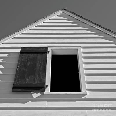 Photograph - White Barn by Patrick M Lynch