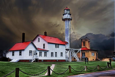 Photograph - Whitefish Point Lighthouse by Evie Carrier