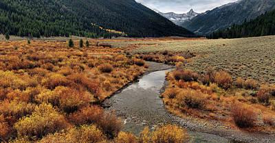 Photograph - Wildhorse Creek by Leland D Howard
