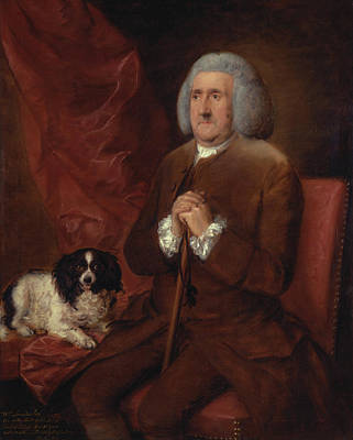 Auditors Wall Art - Painting - William Lowndes  Auditor Of His Majestys Court Of Exchequer  by Thomas Gainsborough