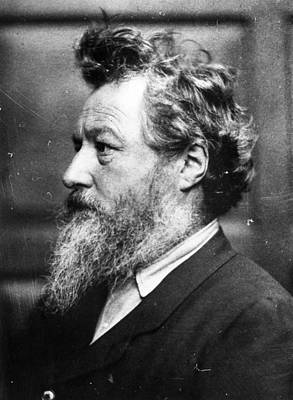 Photograph - William Morris by Frederick Hollyer
