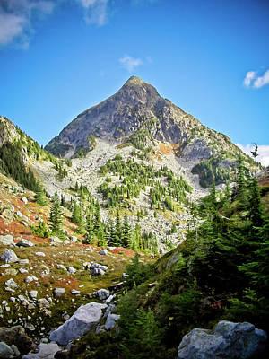 Photograph - Williams Peak by Christopher Kimmel