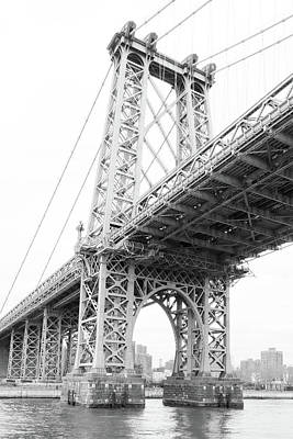 Photograph - Williamsburgh Bridge by Cate Franklyn