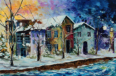 Painting - Winter Light by Kevin Brown