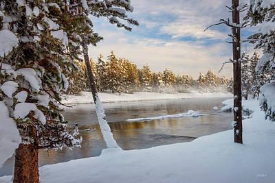Photograph - Winter Morning by Leland D Howard