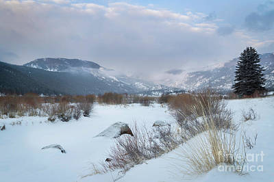 Photograph - Winter Morning On Moraine Park by Ronda Kimbrow