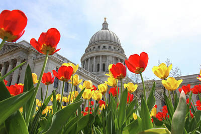 Wisconsin State Capitol Building. Original
