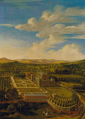Painting - Wollaton Hall And Park, Nottinghamshire by Jan Siberechts