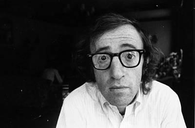 Photograph - Woody Allen by John Minihan