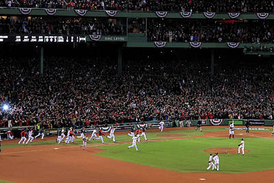 Photograph - World Series - St Louis Cardinals V by Jim Rogash