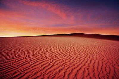Photograph - Xl Desert Sand Sunset by Sharply done