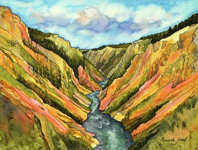 Painting - Yellowstone by Brenda Jiral