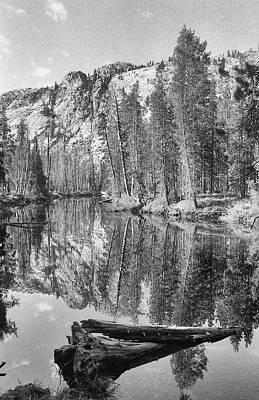 Photograph - Yosemite National Park - Black And White by Rick Veldman