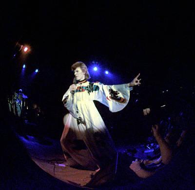 Photograph - Ziggy Stardust Era Bowie by Michael Ochs Archives
