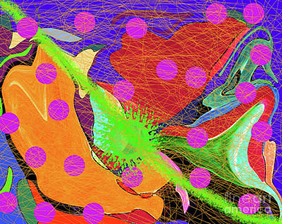 Digital Art - 10-22-2012ca by Walter Paul Bebirian