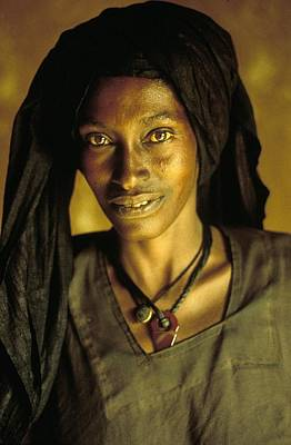 Photograph - Honey And Bronze In Niger - by Herve Gloaguen