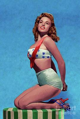 Royalty-Free and Rights-Managed Images - Jayne Mansfield, Movie Star and Pinup by Esoterica Art Agency