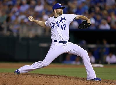 Photograph - Los Angeles Dodgers V Kansas City Royals by Ed Zurga