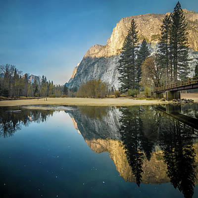 Photograph - View Of El Capitan In Yosemite National Park by Alex Grichenko