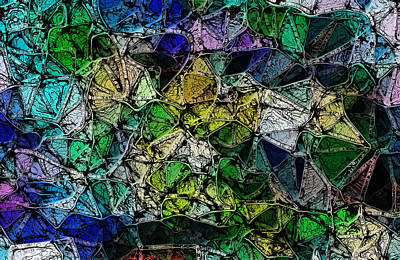 Digital Art - 1037 Web2 by AJP And CRM