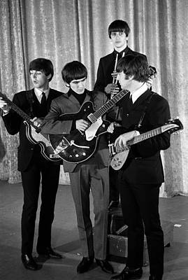 Beatles Photograph - 10th February 1964. New York, Usa by Popperfoto