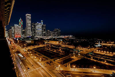 Photograph - 10th Floor View Of Chicago Skyline by Sven Brogren