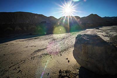 Photograph - Driving Around Death Valley National Park In California by Alex Grichenko