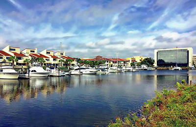Photograph - Pensacola Bay by Anthony Dezenzio