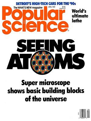 Popular Science Magazine Covers Art Print by Popular Science