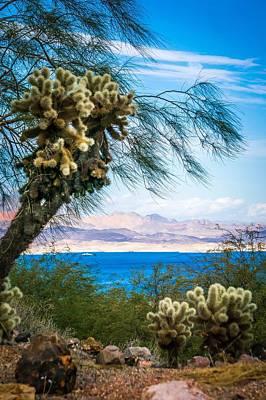 Photograph - Scenes At Lake Mead Nevada Arizona Stateline by Alex Grichenko